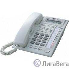 Panasonic KX-T7730RU (PP) (белый) Системный телефон с дисплеем и спикерфоном (12 кнопок)