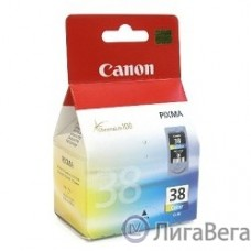 Canon CL-38  2146B005/001 Картридж для Pixma iP1800/2500, Цветной,  205 стр.