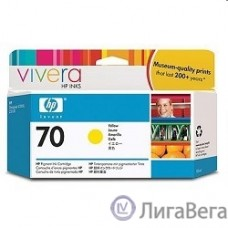 HP C9454A Картридж, Yellow, №70 {DJ Z2100/Z3100 (130 ml)}