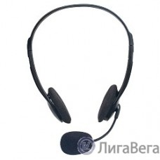 Defender HN-102 Гарнитура стерео, регулят. громк., 1.8м кабель [63102]