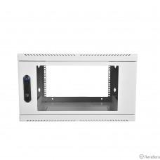 ЦМО Шкаф телекоммуникационный настенный, 6U, 600х300 дверь стекло (ШРН-6.300) (1 коробка)