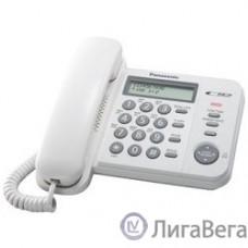 Panasonic KX-TS2356RUW (белый) {АОН,Caller ID,ЖКД,блокировка набора,выключение микрофона}
