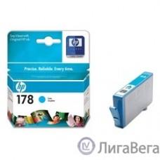 HP CB318HE Картридж №178, Cyan {Photosmart C5383/C6383/D5463/B110, Cyan}