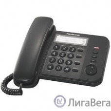 Panasonic KX-TS2352RUB (черный) {индикатор вызова,порт для доп. телеф. оборуд.,4 уровня громкости звонка}