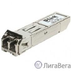 D-Link DEM-210/B1A Модуль SFP с 1 портом 100Base-FX для одномодового оптического кабеля, питание 3,3В (до 15 км)
