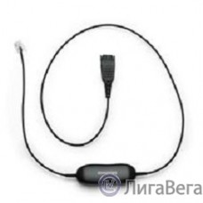 Jabra 88001-99 GN1200 Smart Cord straight, QD to Western RJ10 plug кабель прямой универсальный[88001-99]