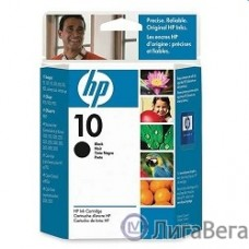 HP C4844AE Картридж №10, Black {DJ 2000c/2500c/2200/2250/DJ 500/ps/800/ps, Black (69ml)}