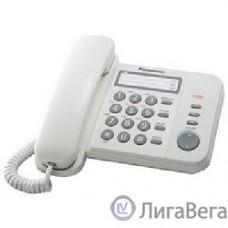 Panasonic KX-TS2352RUW (белый) {индикатор вызова,порт для доп. телеф. оборуд.,4 уровня громкости звонка}