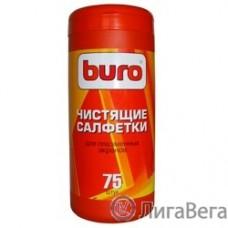 BURO BU-TPSMA [817438] Туба с чистящими салфетками, для ухода за плазменными экранами, 75 шт.