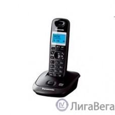 Panasonic KX-TG2521RUT (титан) {АОН, Caller ID,спикерфон,голосовой АОН,полифония,цифровой автоответчик}