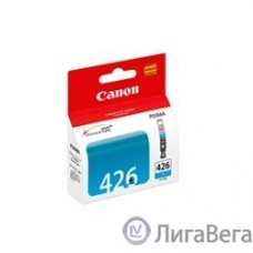 Canon CLI-426C 4557B001 Картридж для iP4840, MG5140, MG5240, MG6140, MG8140, Голубой, 446стр.