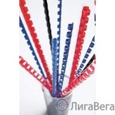 Fellowes Пружина пластиковая FS-53471 ((круглая), 16 мм, 100 шт, 21 кольцо, синие)
