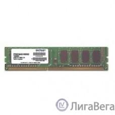 Patriot DDR3 DIMM 4GB (PC3-12800) 1600MHz PSD34G160081