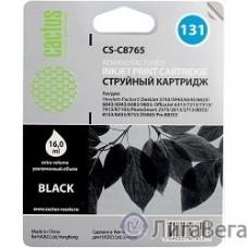 CACTUS C8765HE Картридж  №131 (черный) для HP DeskJet 460/5743/6543/6623/6843;  OfficeJet 6213/7213/7313/7413;  PhotoSmart 2573/2613/2713/8153/8453/8753/Pro B