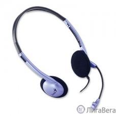 GENIUS HS-02B 535164 {Наушники с микрофоном, регулятор громкости}