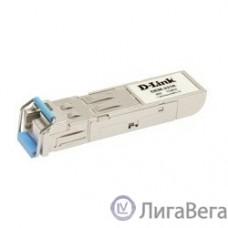 D-Link 331R/20KM/A1A WDM SFP-трансивер с 1 портом 1000BASE-BX-U (Tx:1310 нм, Rx:1550 нм) для одномодового оптического кабеля