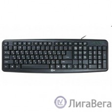 CBR KB 107 Black USB, Клавиатура 104 кл., офисн.