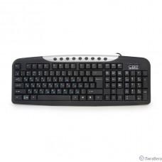 CBR KB 300M Black/Silver USB, Клавиатура 107+9 доп. кл.