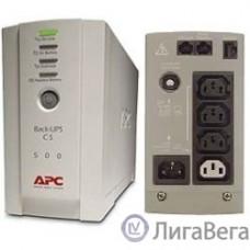 APC Back-UPS CS 500 BK500EI