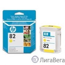 HP C4913A Картридж №82, Yellow {DesignJet 500/800, Yellow (69 ml)}
