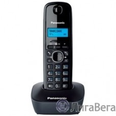 Panasonic KX-TG1611RUH (серый) {АОН, Caller ID,12 мелодий звонка,подсветка дисплея,поиск трубки}