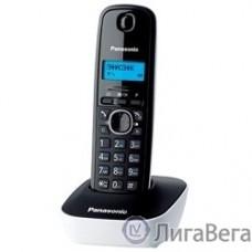 Panasonic KX-TG1611RUW (белый) {АОН, Caller ID,12 мелодий звонка,подсветка дисплея,поиск трубки}