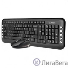A4Tech 7200N 2.4G  X-Far Wireless V-Track Desktop  USB ,черный [613834]