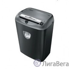 Fellowes Шредер Powershred 75Cs FS-46750 (FS-4675001/FS-4675002){авт., 3.9х50мм, 12лст., 27лтр., уничтожает: скобы, карты, скрепки, CD, селектор кол-ва листов}
