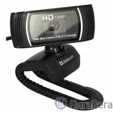 Web-камера Defender G-lens 2597 {2МП, автофокус, слеж за лицом, HD 720R} [63197]