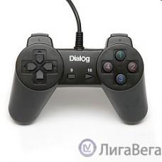 Dialog Action GP-A01, черный {Геймпад, 10 кнопок, USB}