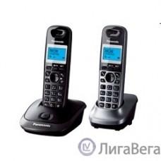 Panasonic KX-TG2512RU2 {Доп трубка в комплекте, АОН, Caller ID, спикерфон, полифония}