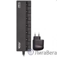 HUB GR-388UAB Ginzzu USB 3.0/2.0 7 port + adapter