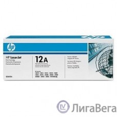 HP Q2612AF/Q2612AD Картридж ,Black{LaserJet 1010/1012/1015/1020/1022/3015/3020/3030, Black, 2-pack, (2000 стр.)}