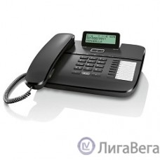 Gigaset DA710 (IM) Black. Телефон проводной (черный)