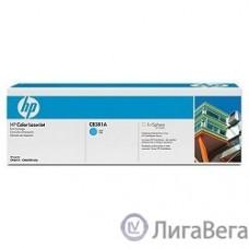 HP CB381A Картридж ,Cyan{Color LJ CP6015/CM6030mfp/CM6040mfp, Cyan, (21000стр.)}