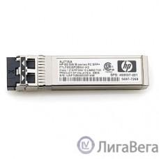 HP AJ716B Трансивер HPE 8Gb B-Series Short Wave SFP+ 1 Pack AJ716B