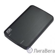 AgeStar 3UB2A12(-6G)  USB 3.0 Внешний корпус 2.5″ SATA AgeStar 3UB2A12 USB3.0, алюминий, черный, безвинтовая конструкция (729830/07330)
