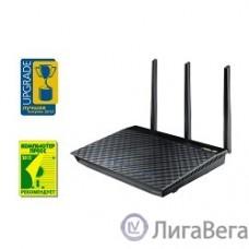 ASUS RT-AC66U (802.11ac Dual-Band Wireless-AC1750 Gigabit Router)