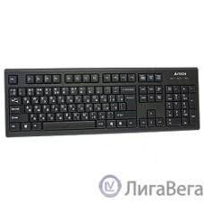 Клавиатура A-4Tech KR-85 black USB, проводная, 104 клавиши [570125]