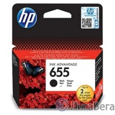 HP CZ109AE Картридж №655, Black {DeskJet IA 3525/5525/4615/4625, Black}