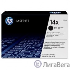 HP CF214X Картридж, Black{LaserJet 700 MFP M712, Black, (17 500стр.)}