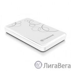 Transcend Portable HDD 1Tb StoreJet TS1TSJ25A3W {USB 3.0, 2.5″, white}