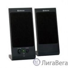 Defender SPK 165 /170 черные {2.0, 2х2 W, разъем для наушников, USB} [65165]