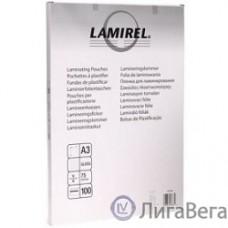 Lamirel Пленка для ламинирования LA-7865501 (А3, 75мкм, 100 шт.)