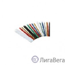Lamirel Пружина пластиковая CRC LA-7867002 (10 мм. Цвет: белый, 100 шт.)