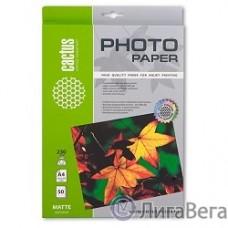 CACTUS MA423050 Фотобумага Cactus CS-MA423050 матовая, A4, 230 г/м2, 50 листов