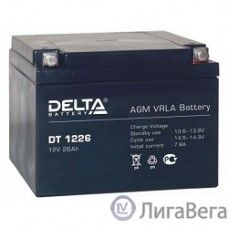Delta DT 1226 (26 А\ч, 12В) свинцово- кислотный аккумулятор