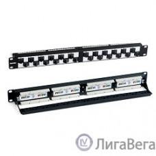Hyperline PPHD-19-48-8P8C-C6-110D Патч-панель высокой плотности 19″, 1U, 48 портов RJ-45, категория 6, Dual IDC