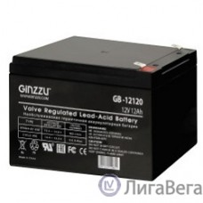 Ginzzu Батарея GB-12120 свинцово-кислотный, необслуживаемый, технология AGM, клемма 5/7мм