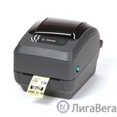 Zebra GK420t  [GK42-102220-000] Черный {TT Printer , 203 dpi, Euro and UK cord, EPL, ZPLII, USB, Ethernet}